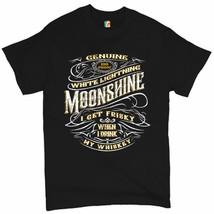 I Get Friskey When I Drink My Whiskey T-shirt Genuine Moonshine Men's Tee - $11.92+