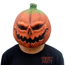 CreepyParty Deluxe Novelty Halloween Costume Party Props Latex Pumpkin H... - £29.30 GBP