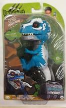 IRONJAW Untamed Raptor Dinosaur T-Rex BLUE Dino WowWee Fingerlings NEW I... - $19.99