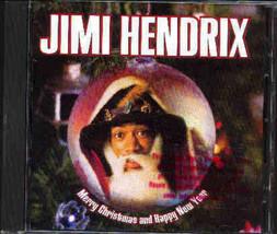 Jimi Hendrix Merry Christmas And Happy New Year US 3 Track CD - $9.46