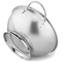 Colander Pro Stainless Steel 3-Quart Colander: Metal Pasta ... - $21.76