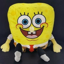 BUILD A BEAR Plush Spongebob Square pants Large Yellow Nickelodeon Stuff... - $24.74