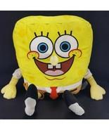 BUILD A BEAR Plush Spongebob Square pants Large Yellow Nickelodeon Stuff... - $24.74