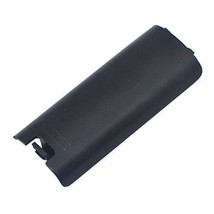 Black Replacment Battery Cover for Nintendo Wii Controller Remote - $4.19