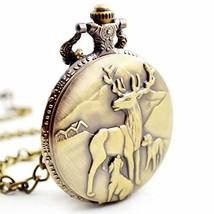 BOSHIYA Men's Pocket Watch Perfect Anniversary Gift Classic Vintage Quar... - $11.25