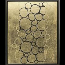 Paragon Decor Canvas Painting -  Gold Combo IV  ( 41 H x 33 W x 3 D ) - $785.00