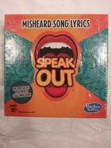 Speak Out Misheard Song Lyrics - Hasbro Gaming - $6.44