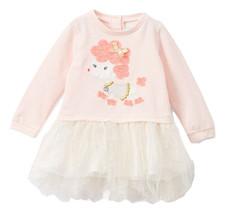 NWT Nannette Poodle Girls Pink Long Sleeve Tutu Dress 2T - $12.99