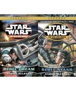 Star Wars ENEMY LINES DUOLOGY by Aaron Allston PAPERBACK Set of Books 1-2 - $14.99