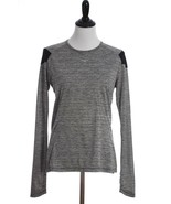 Mizuno Alpha Long Sleeve Drylite Reflective Athletic Shirt Womens Medium... - $16.69