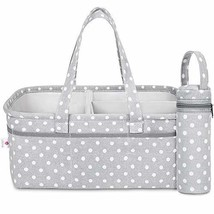 Baby Diaper Caddy Organizer | Baby Shower Registry Must Haves For Boy Girl Gifts