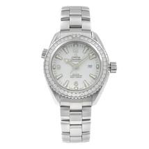 Omega Seamaster Planet Ocean Steel Diamond Ladies Watch 232.15.38.20.04.001 - $7,499.00
