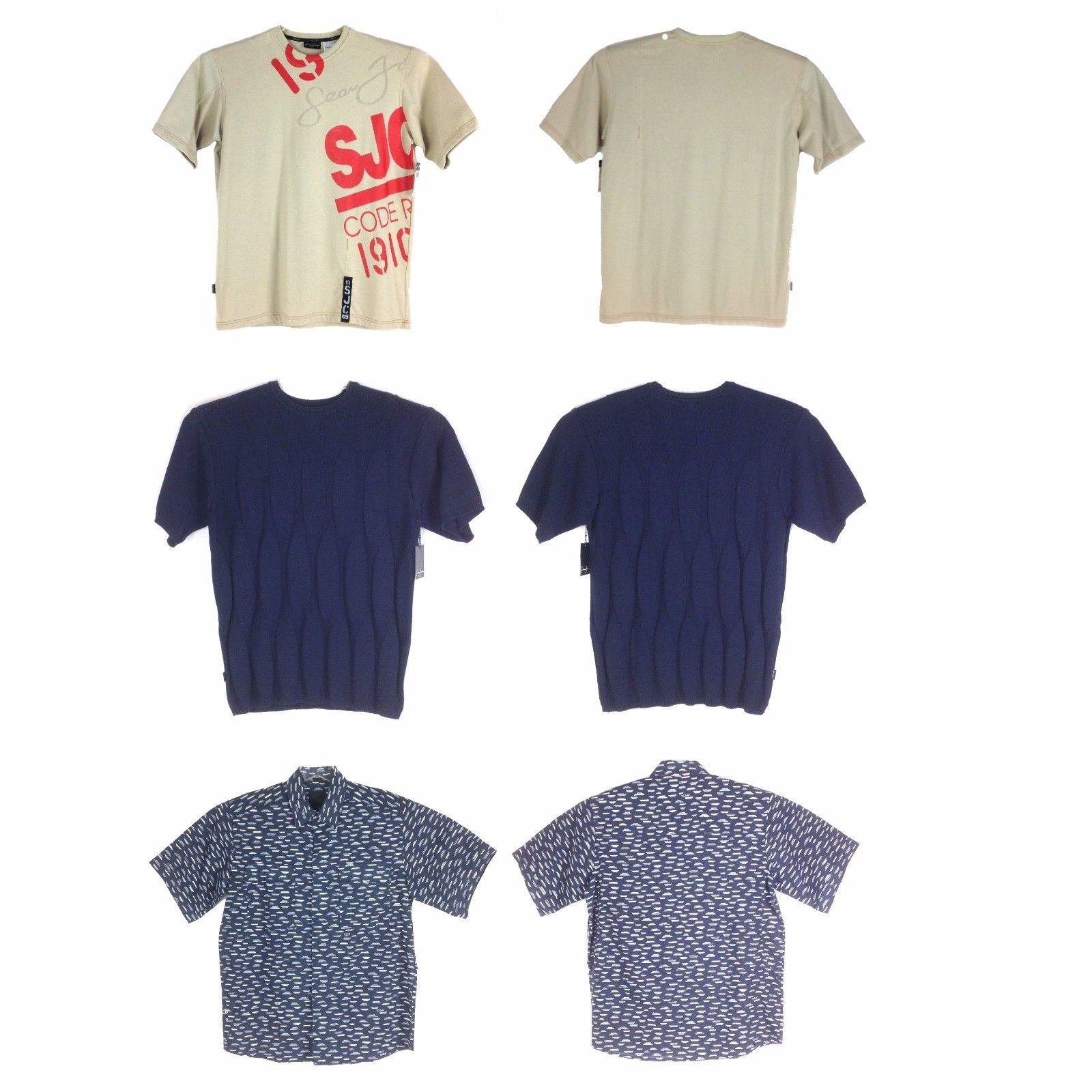 Primary image for Sean John SHORT SLEEVES MEN'S TOPS, ASSORTED STYLES/COLORS, LIMITED SIZES