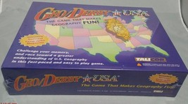 GeoDerby USA Game Geography Educational Teaching Board Game Talicor New - $23.36