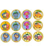 A Birthday Place 12 Team UmiZoomi ~ Cupcake Topper ~ Edible Frosting Image - $9.99