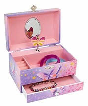 Jewelkeeper Butterfly Flower Music Jewelry Box with Pullout Drawer, Jewel - $28.05