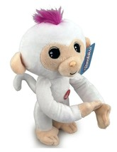 Plush Baby Monkey w/ Sound and Bendable Arms & Legs  White - $14.35