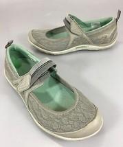 Merrell Womens 7 Aluminum Enlighten Eluma Breeze Mary Jane Mesh Shoes Sneakers - $45.57