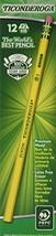 Dixon Ticonderoga Wood-Cased Pencils, #2 HB, Yellow, Box of 96 13872 - $20.99