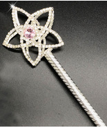 Royal Scepter Princess Scepter Party Wand Pageant Costume Pretend Play J... - $22.47