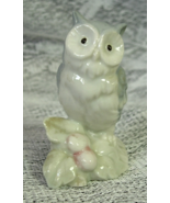 GEORGE GOOD Owl Figurine - Blue and White Pastel with a hint of Pink - T... - $8.00