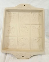 Large Shortbread Mold by The Workshops of Gerald Henn Fruit Flower Basket - $19.79