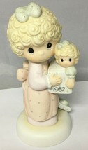 Precious Moments 1987 Love Is The Best Gift of All 110930 Cedar Tree Mark - $19.55