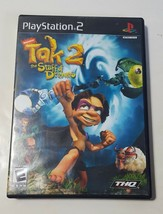 Tak 2: The Staff of Dreams - Playstation 2 PS2 Black Label BL 2004 CIB C... - $6.88