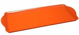 Calypso Basics by Reston Lloyd Melamine Tidbit Tray, Orange - $15.98