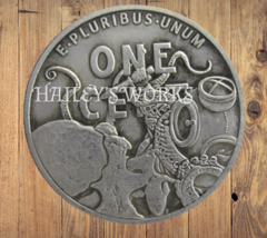 Hobo Nickels Skull Once Cent Ocean Sea Octopus USA Art Coin Free Shippin... - $13.29
