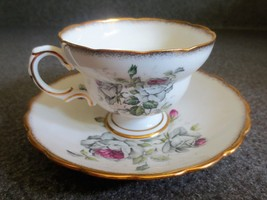 Rosina Bone China Tea Cup and Saucer Floral/Roses  - $15.88
