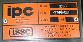 ISSC MODEL 321-A MODULE SLOT RACK image 4