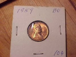 1966-P Lincoln   Cent UNCIRCULATED  Red  Nice  US  Coin   FREE  Shipping
