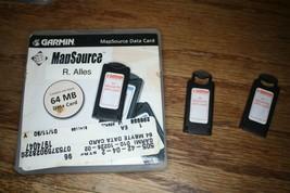 Garmin 64 MB MapSource Data Card Blank Empty - $42.08
