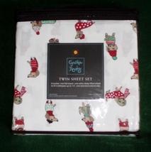 Winter Dachshund Christmas Holiday Microfiber Sheet Set - Twin - $35.00