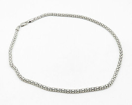 925 Sterling Silver - Smooth Circle Rope Style Chain Necklace - N1963 - $107.54