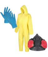 Breaking Bad Cook Suit Costume and Walter White Mask Heisenberg Fancy Dress - $16.00+