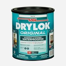Drylok Original 1 qt. WATERPROOFER Basement/Masonry Latex Sealer White 2... - $18.99