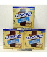 Three pack: Millville Elevation Protein Bars Carb Conscious Coconut Almo... - $30.00
