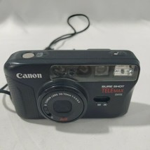Canon Sure Shot Telemax 35mm Film Point & Shoot Camera  - $64.35