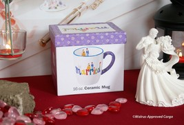 "CERTIFIED INTERNATIONAL ""JUST MARRIED"" CERAMIC MUG -NIB- SAY ""I DO"" TO W... - $15.95"