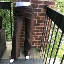 Elie Tahari Brown Dress Pant Rhonda Pant Size 8 - $147.51