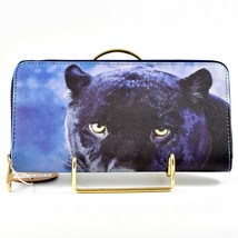 Heimish Atlantic Fashion Black Panther Design Clutch Wallet New w Tags image 2