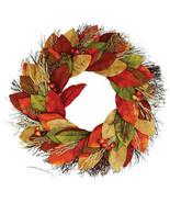 Darice Magnolia Wreath: 22 inches w - $49.99