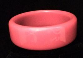 Vintage Lucite Bangle Bracelet Red - $7.69