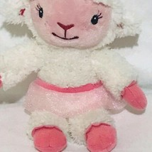 "Disney Doc McStuffins BALLERINA LAMB Sheep 9"" plush pink & white Just Play - $17.89"