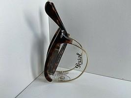 New Persol 3132-v 24 Clubmaster 51mm Tortoise Folding Eyeglasses Frame - $149.99