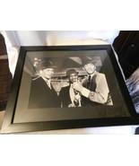Frank Sinatra Dean Martin Sammy Davis Robin & The Seven Hoods Framed Print - $92.81