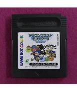 Dragon Quest Monsters Terry no Wonderland (Nintendo Game Boy Color GBC 1... - $6.91