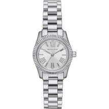 Michael Kors MK3524 Lexington Mini Silver Dial Silver Bracelet Women's W... - $188.09